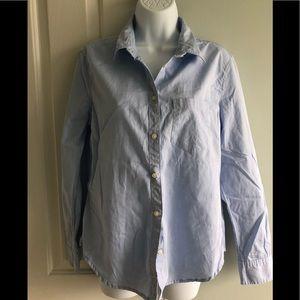 Gap chambray boyfriend shirt medium